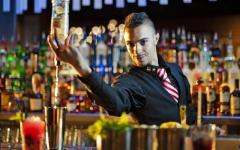 Предлагаю работу барменом