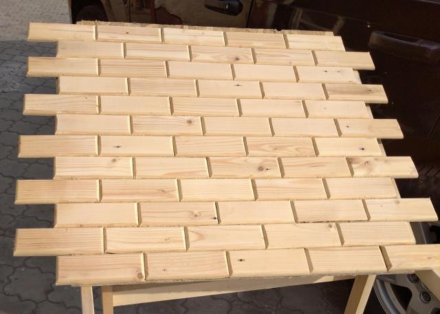 Деревянные стеновые панели - 1