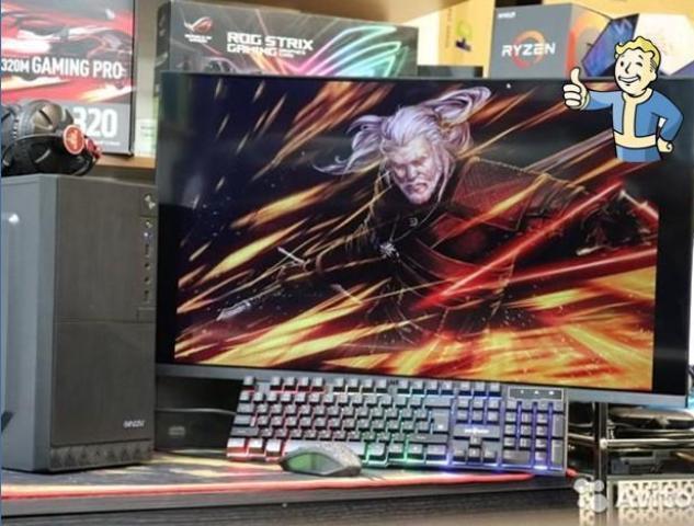 Продам мощный игровой компьютер - 1