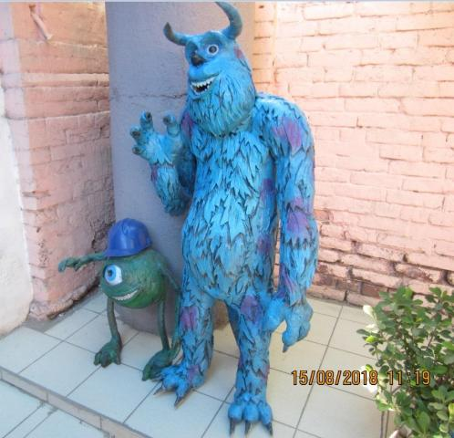 workshop decorative creatures fantastic animal figures decorations for street theaters - 4