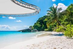 Pergola, A Canopy For Parking Lots, Bars, Verandas