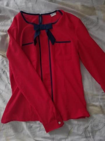 Продам блузу красного цвета - 1