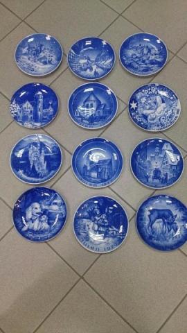 Продам настенные, винтажные, немецкие, фарфоровые тарелки - 1