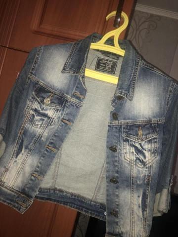 Продам куртку  джинсу - 1