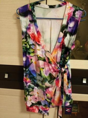 Продам блузу с запахом - 1