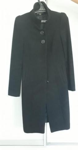 Продам черное кашемировое пальто - 1