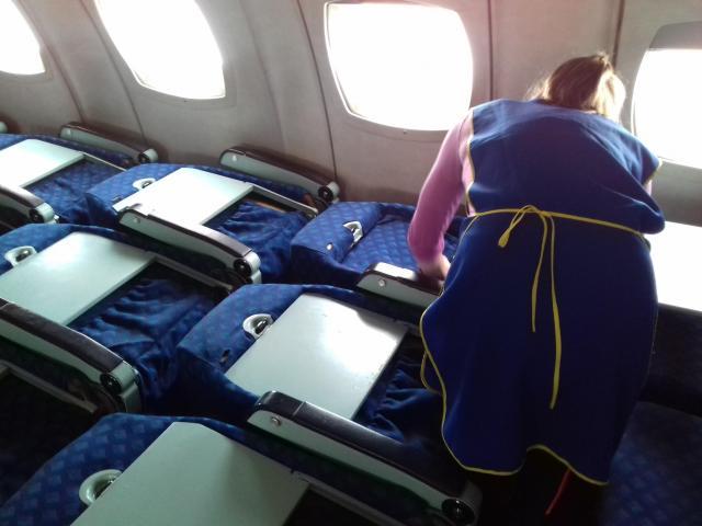 Приглашаем сотрудника на работу по чистке ковровых покрытий самолётов - 1