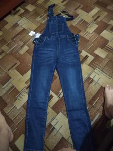 Продам комбез джинсовый - 1