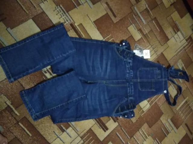 Продам комбез джинсовый - 2