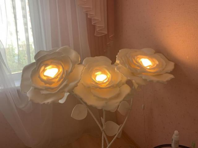 Продам Розы-светильник - 2