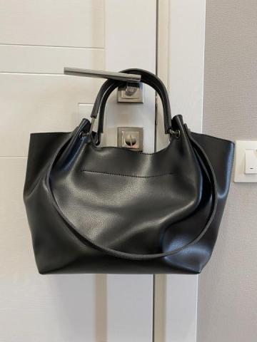 Продам кожаную сумку - 1