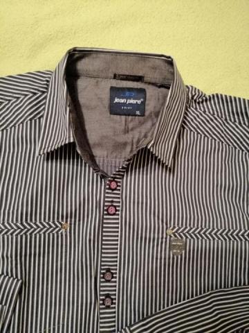 Продаю новую приталенную стрейчевую рубашку - 1
