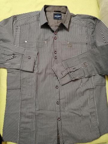 Продаю новую приталенную стрейчевую рубашку - 2