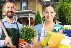требуются садовник и домработница