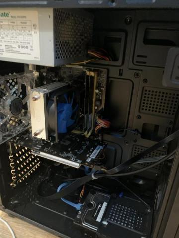 Продаю игровой компьютер.Core i5 4460/ GTX 1050/ 8gbRAM/ 750HDD - 2