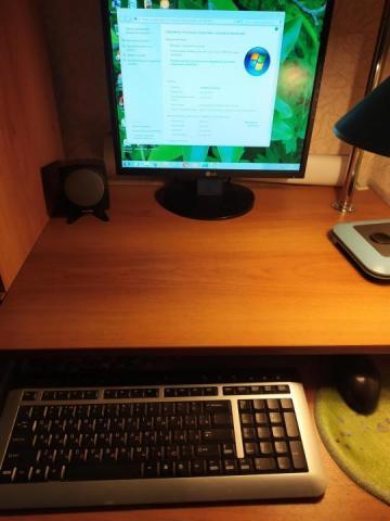 Продам компьютер,монитор,стол - 1