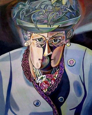 Картина Елизавета. 1 - 1