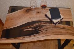 Table with epoxy/Стол с эпоксидной смолой - Изображение 3