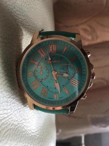 Продам  часы бирюзового цвета - 2