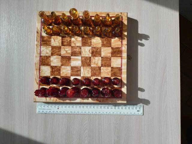 Шахматы из янтаря - 4
