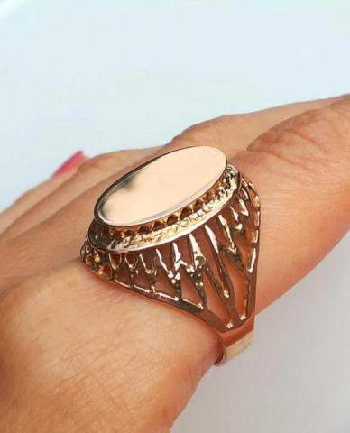 Продам Золотое советское кольцо - 1