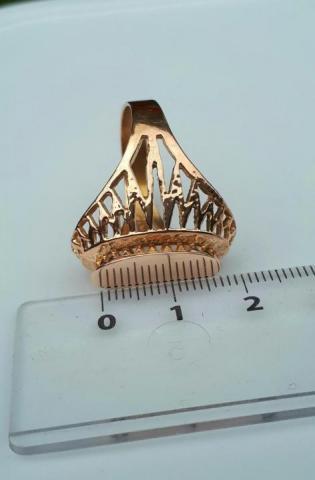 Продам Золотое советское кольцо - 3