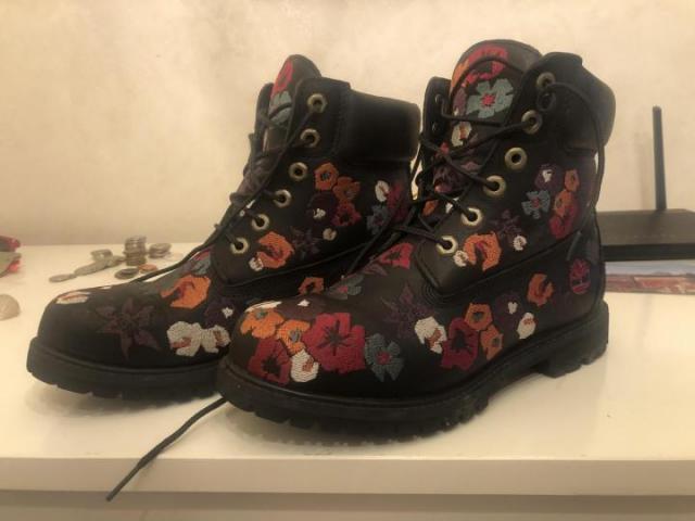 Продам женские ботинки Timberland, размер 38.5, - 1
