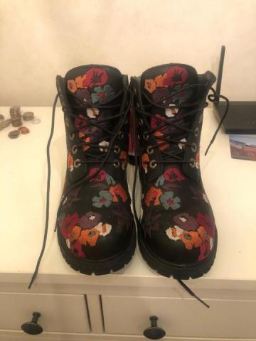 Продам женские ботинки Timberland, размер 38.5, - 3