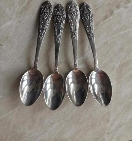 Продам ложки кофейные серебро - 1