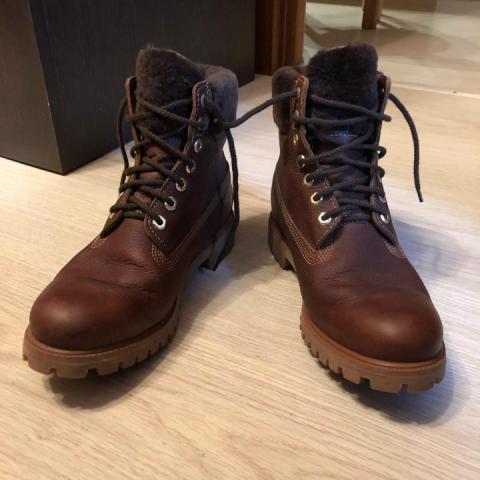 Продаю зимние ботинки Tibmerland - 1