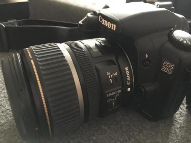 Продам Canon EOS 20D + Canon ultrasonic EFS 17-85mm - 2
