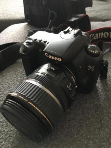 Продам Canon EOS 20D + Canon ultrasonic EFS 17-85mm - 3