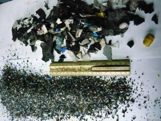 Измельчители  полимеров, резины  и  другого  сырья - 1